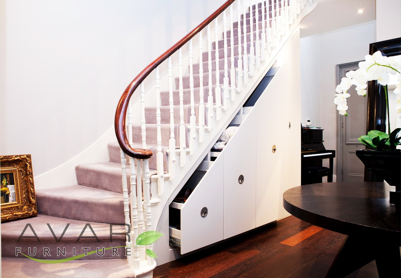 ƸӜƷ Under stairs storage ideas | North London, UK | Avar Furniture