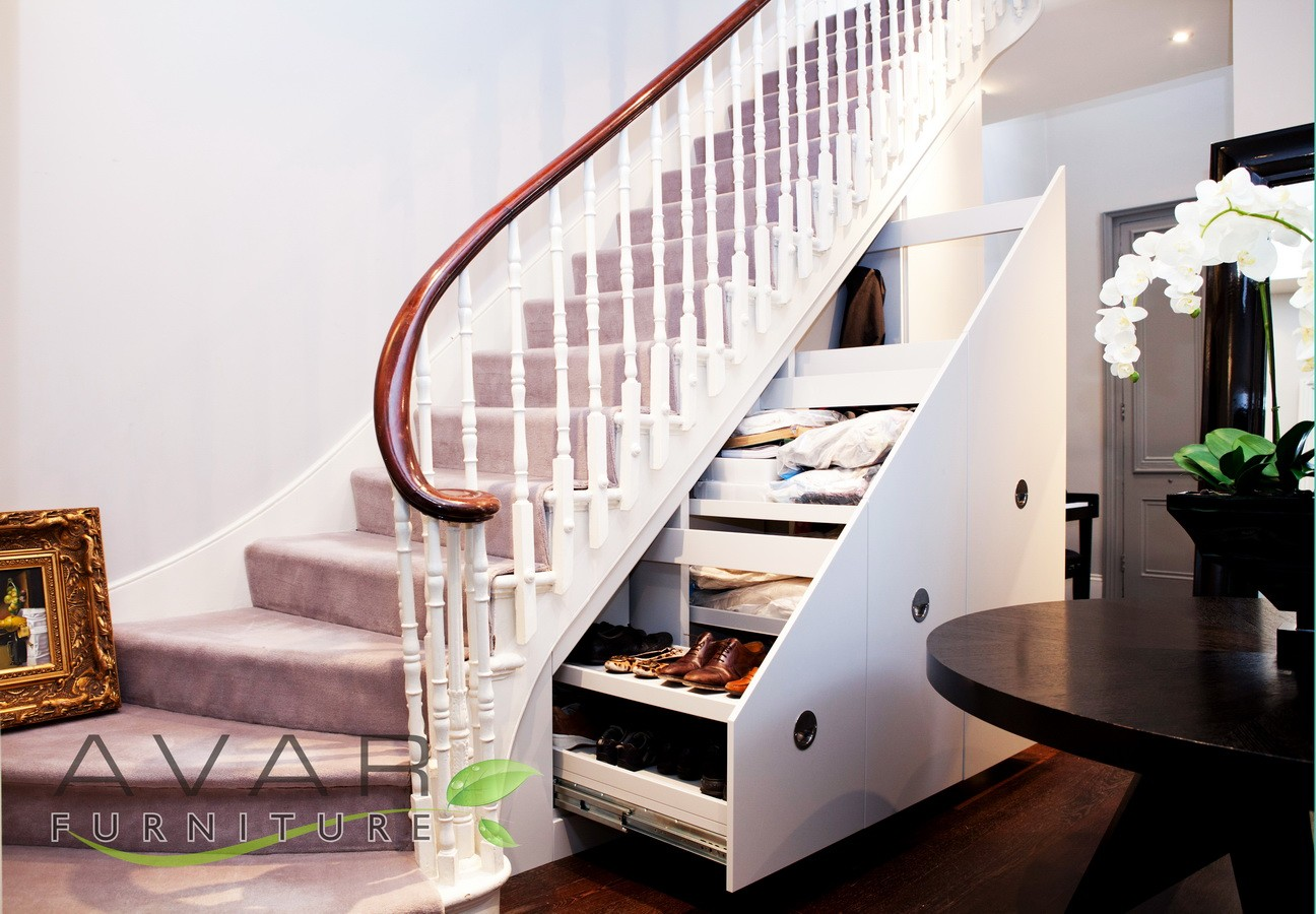 attic organisation ideas - ƸӜƷ Under stairs storage ideas Gallery 3
