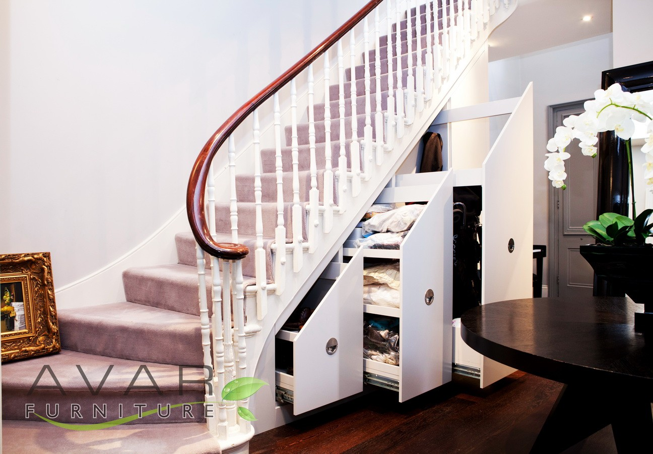 Bespoke Under Stairs Shelving: ƸӜƷ Under Stairs Storage Ideas / Gallery 3