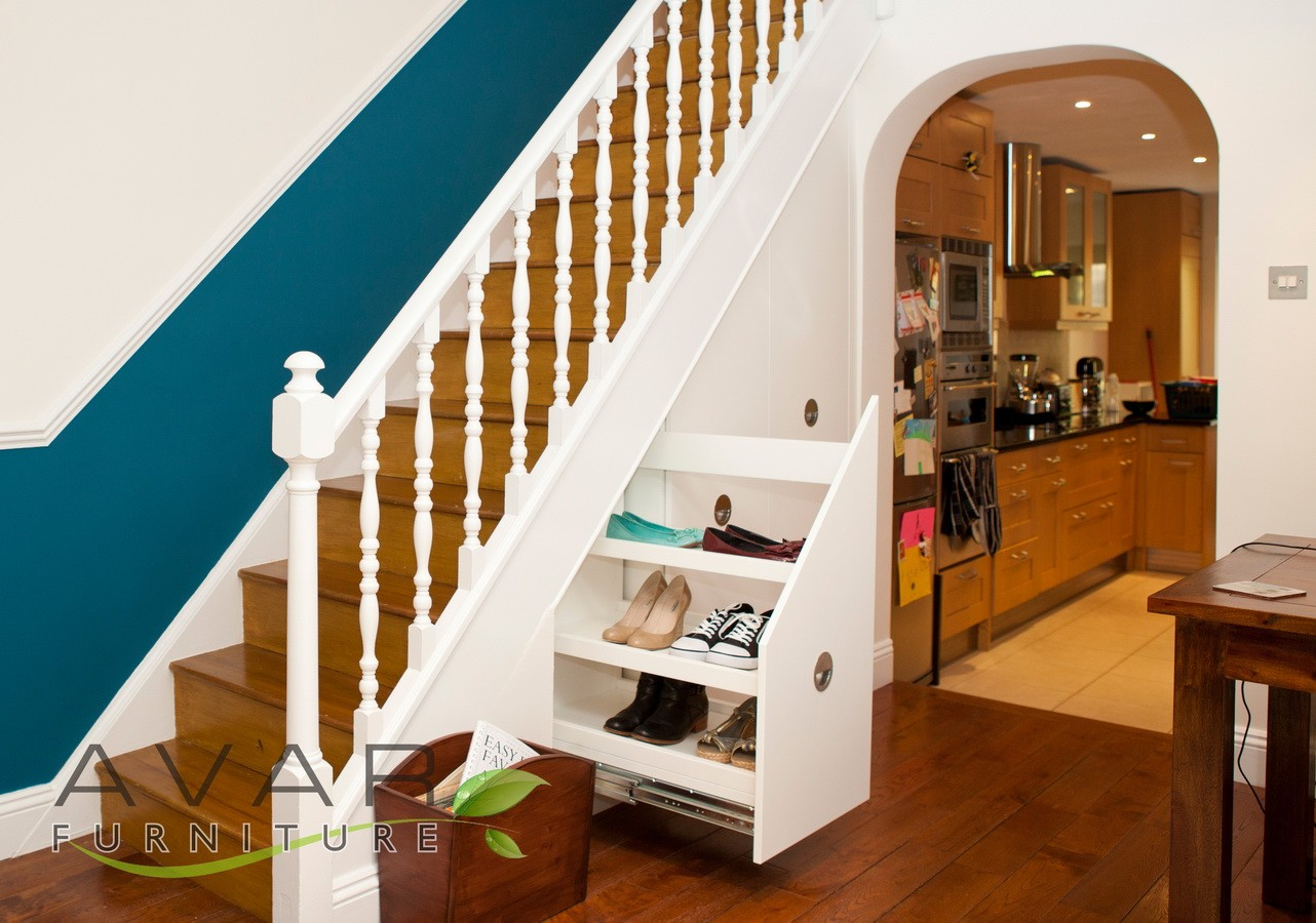 U Shaped Kitchen Ideas ƸӜƷ Under Stairs Storage Ideas Gallery 5 North London