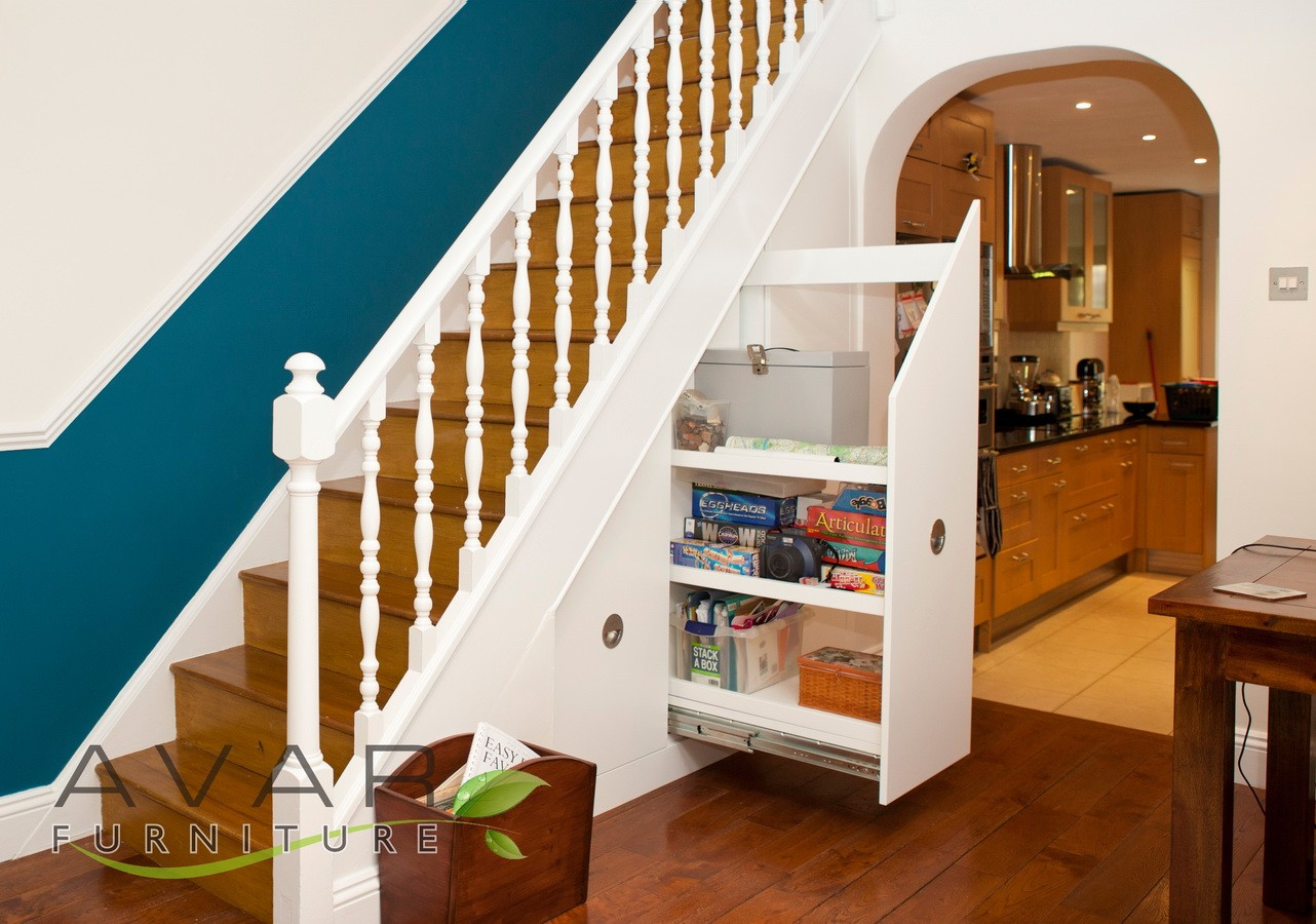 Under stair pantry!