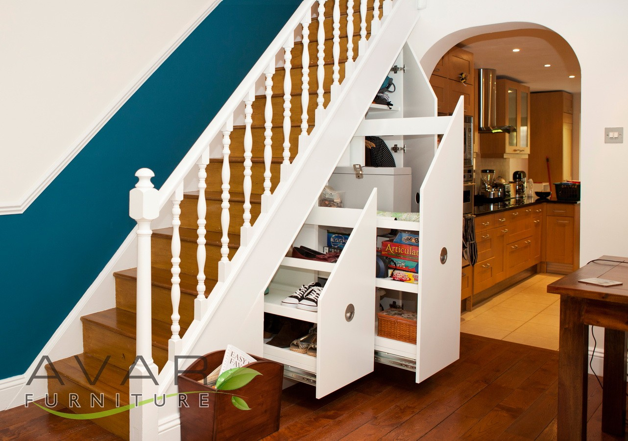 under stairs storage ideas gallery 5 north london. Black Bedroom Furniture Sets. Home Design Ideas