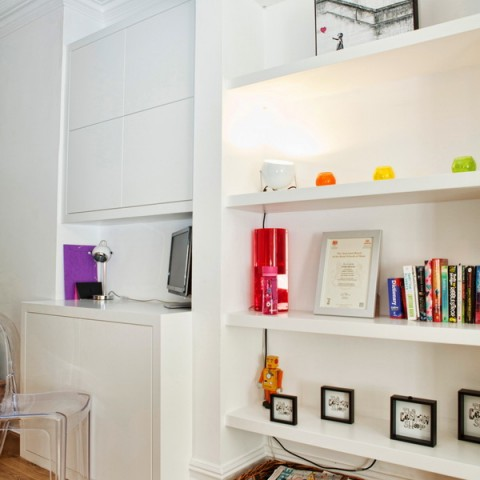 Alcove Shelving, Fitted Shelving Units, London
