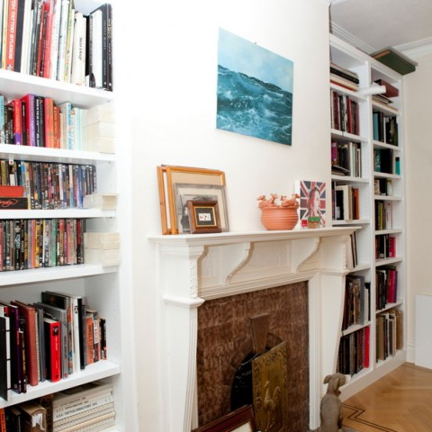 Fitted Bookcase, Room view