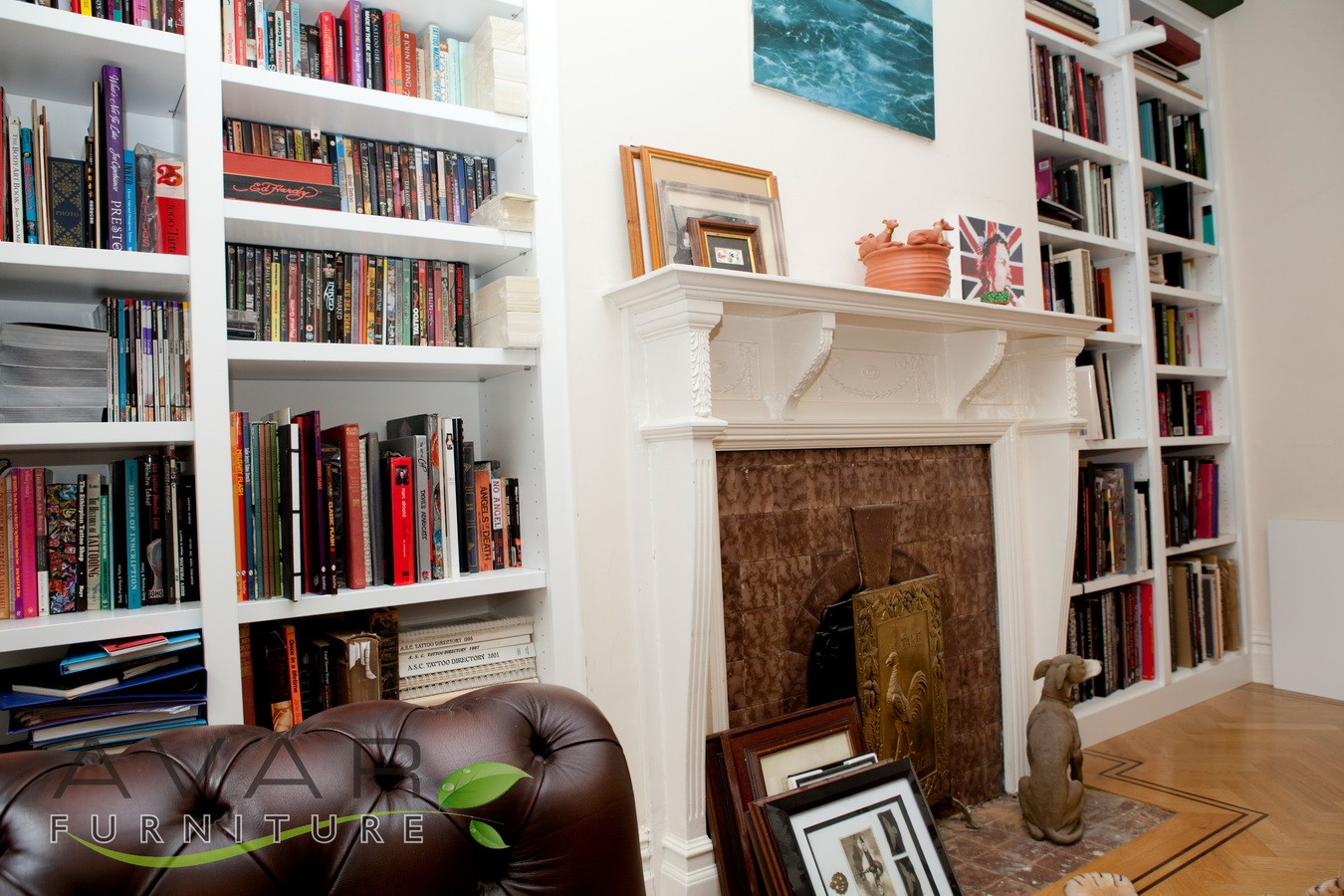 Bespoke Under Stairs Shelving: ƸӜƷ Bespoke Bookcase Ideas / Gallery 1