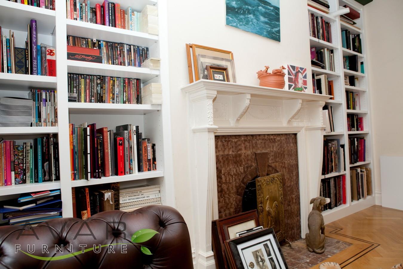 ƸӜƷ Bespoke Bookcase Ideas Gallery 1 North London Uk