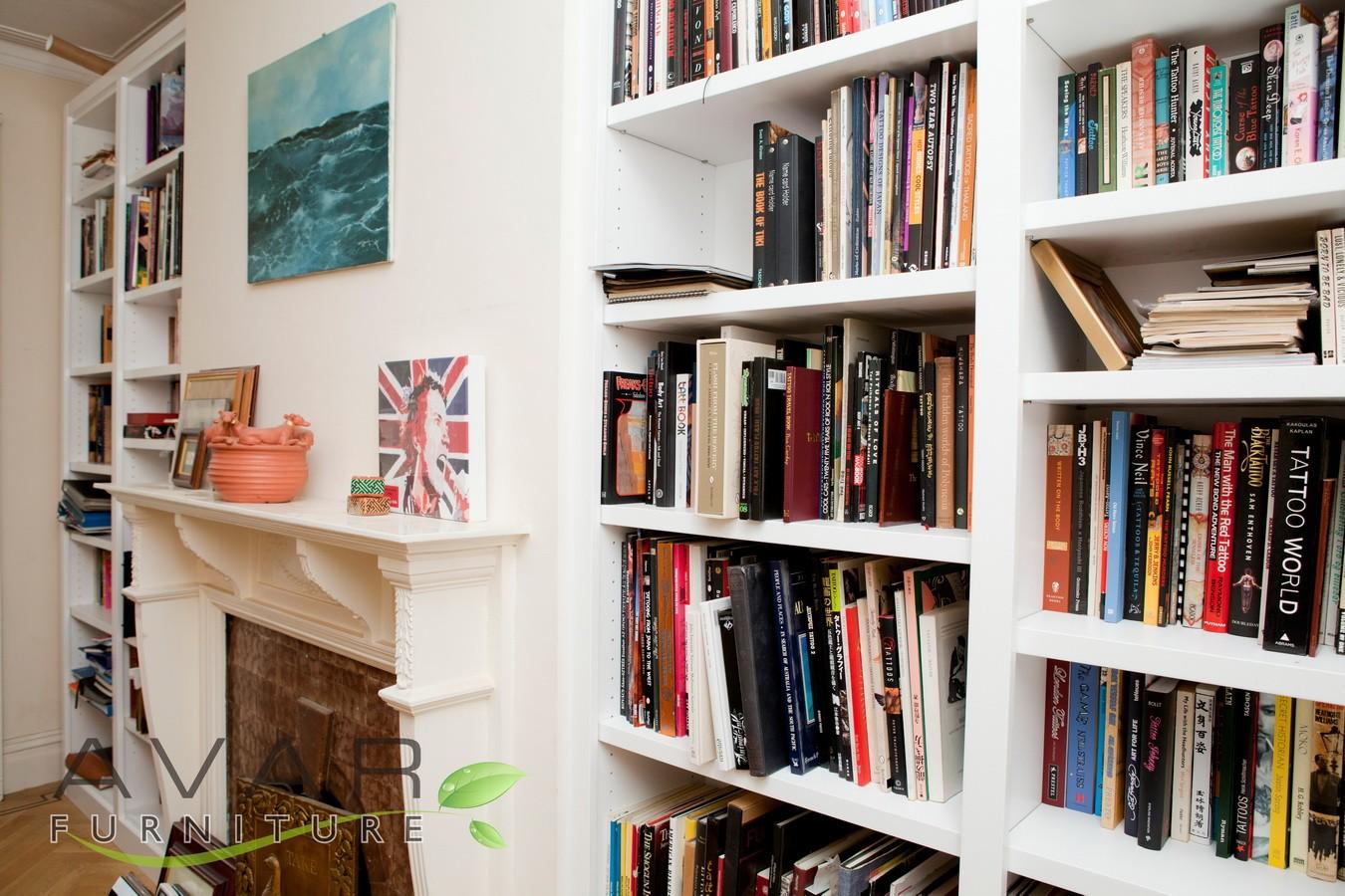 ƸӜƷ Bespoke Bookcase Ideas Gallery 1 North London Uk Avar Furniture