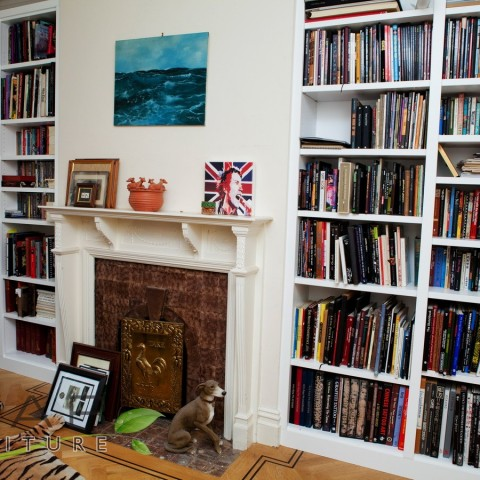 Bespoke Bookshelves, Side view