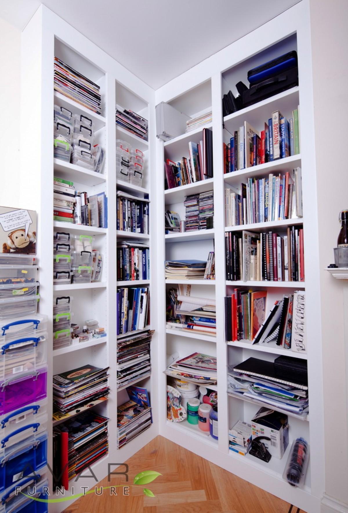 ƸӜƷ Bespoke Bookcase Ideas Gallery 2 North London Uk