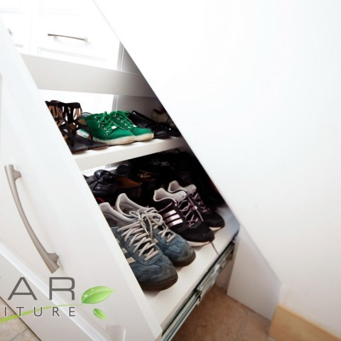 Under stairs furniture, Shoe Storage Solution
