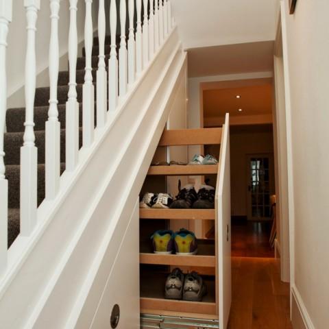 Diy Closet Shoe Shelves