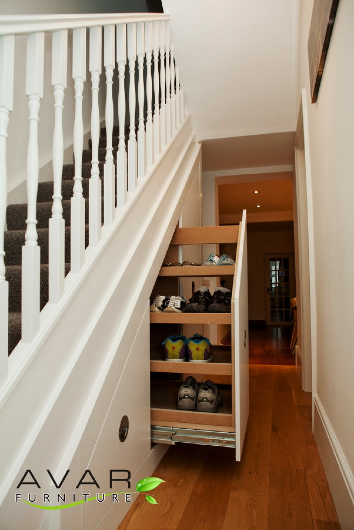 under the stairs storage ideas native home garden design