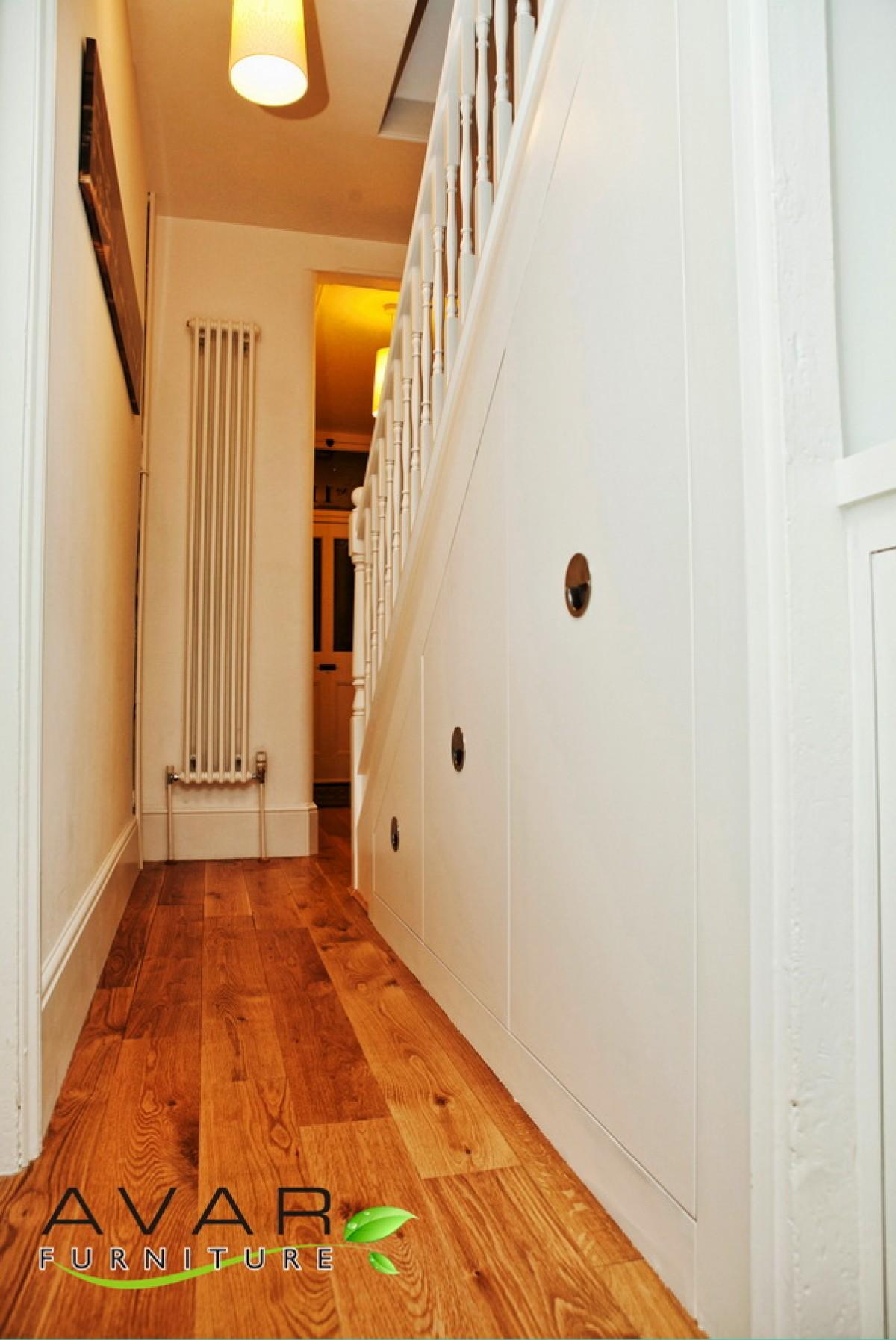 Sliding closet doors ideas quotes for Door under stairs