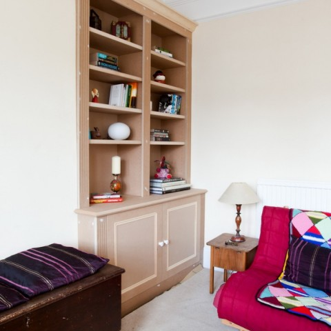 Alcove Cabinet, Alcove Bookcase, London