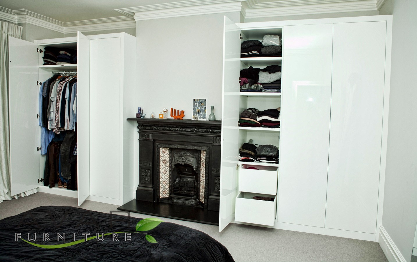 ideas for closet under stairs - ƸӜƷ Fitted wardrobe ideas Gallery 4