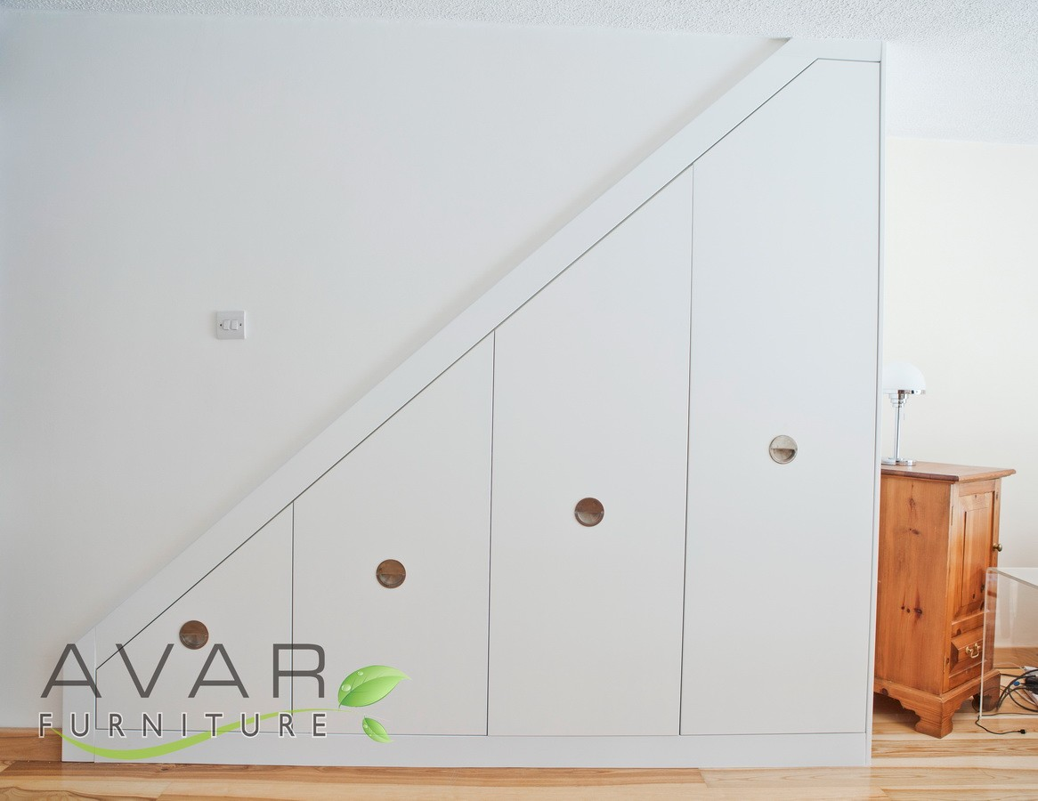 Under Stairs Furniture Under Stairs Storage Door Space The Furniture A
