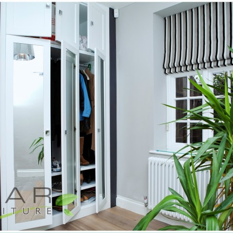 08 modern fitted wardrobes London