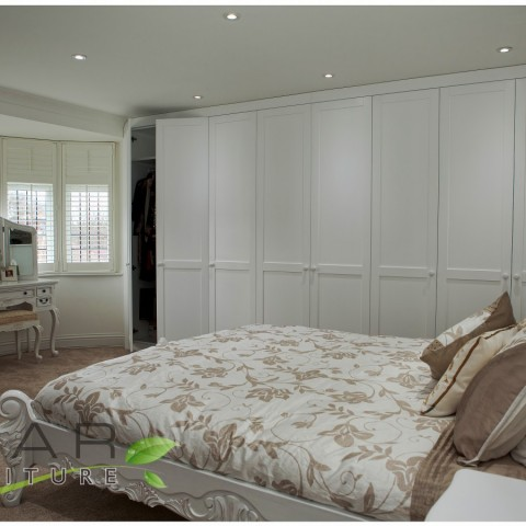03 bespoke fitted wardrobes, wall to wall