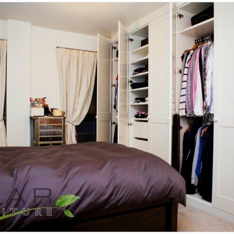 Fitted wardrobe ideas gallery 12 north london uk - Interior door spray painting service ...