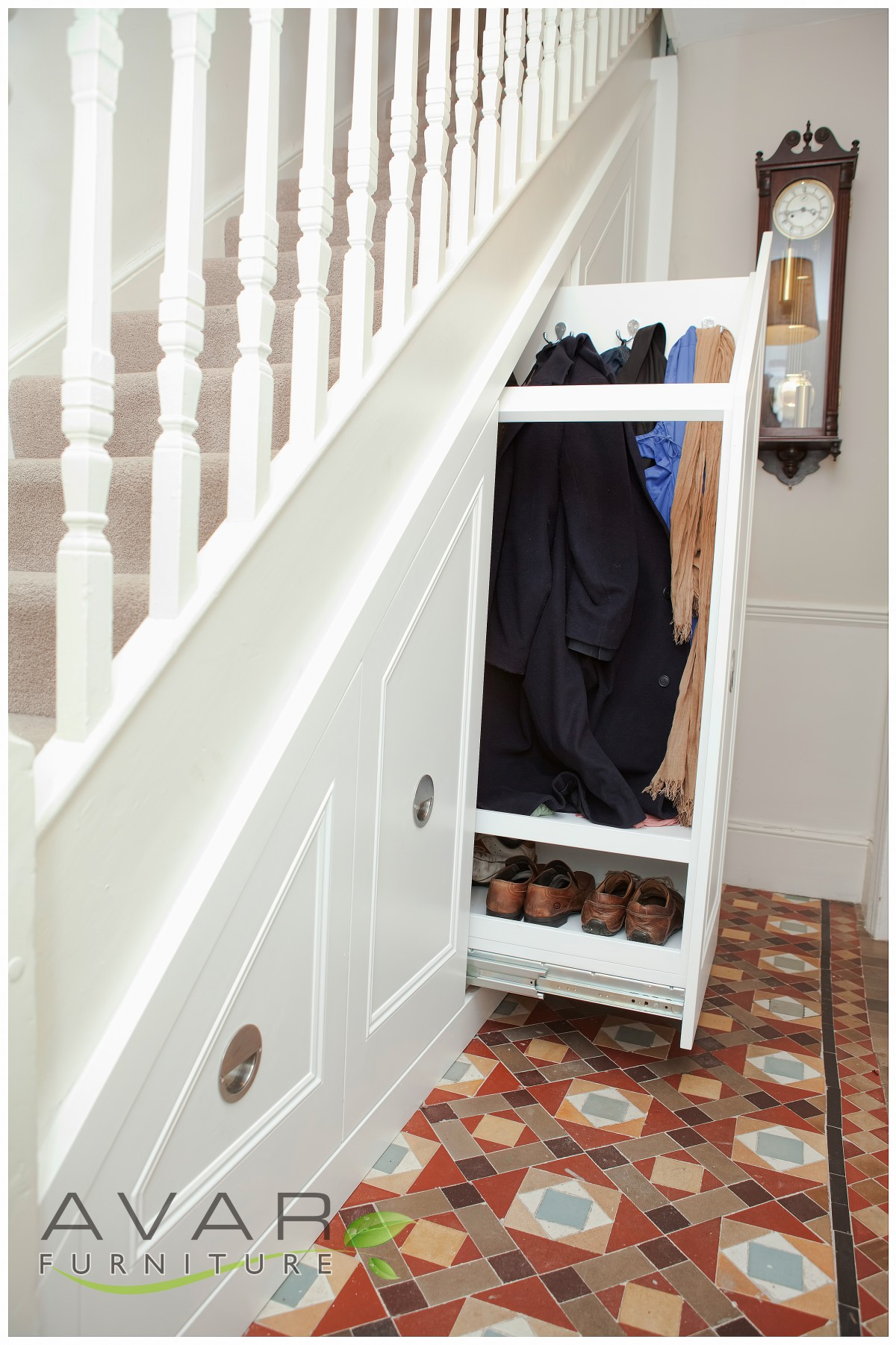 under stairs storage ideas gallery 13 north london uk avar furniture. Black Bedroom Furniture Sets. Home Design Ideas