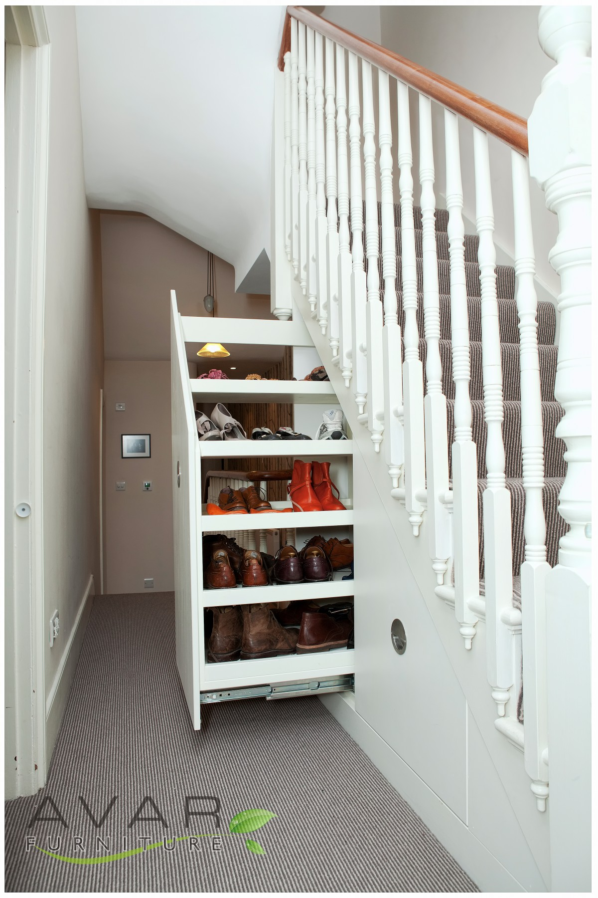 Under stairs storage ideas gallery 14 north london for Understairs storage