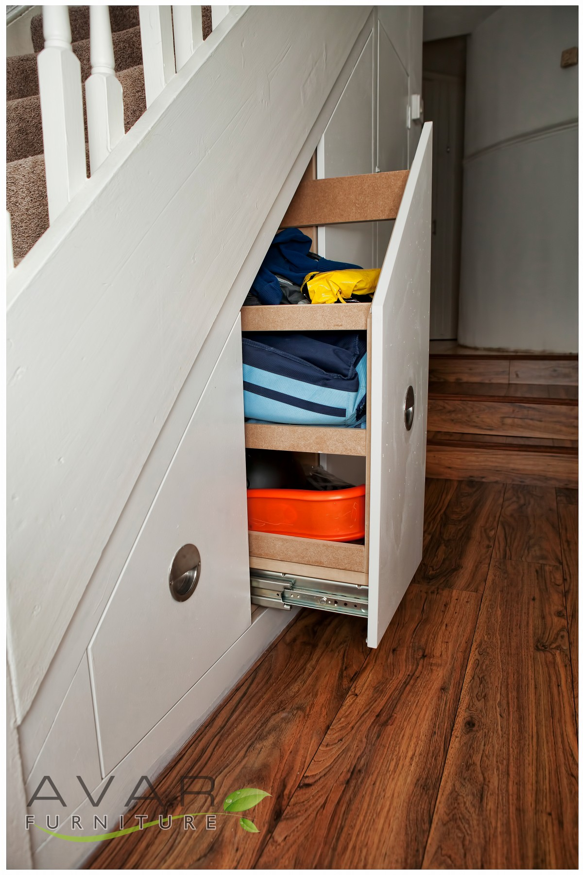 Under stairs storage ideas gallery 16 north london for Under stairs drawers plans