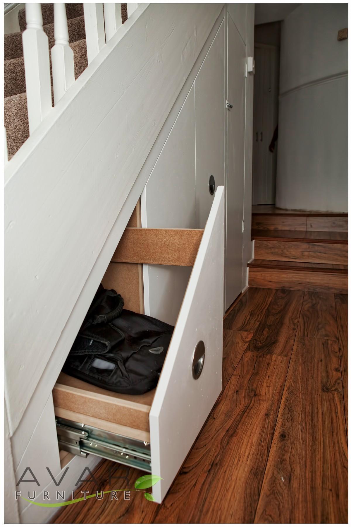ƸӜƷ under stairs storage ideas / gallery 16 | north london, uk