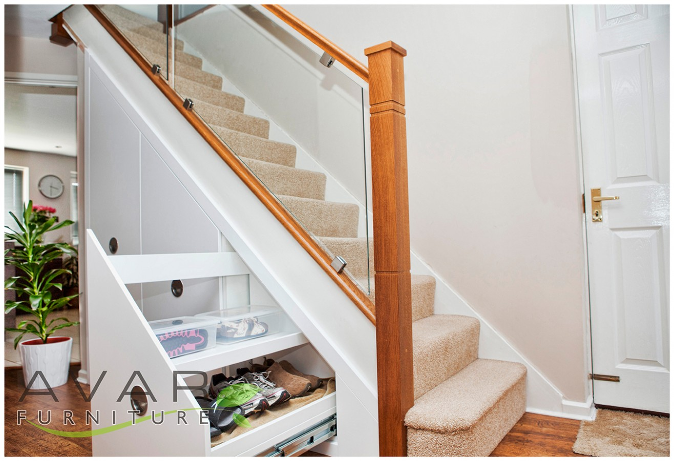 Bespoke Under Stairs Shelving: ƸӜƷ Under Stairs Storage Ideas / Gallery 2