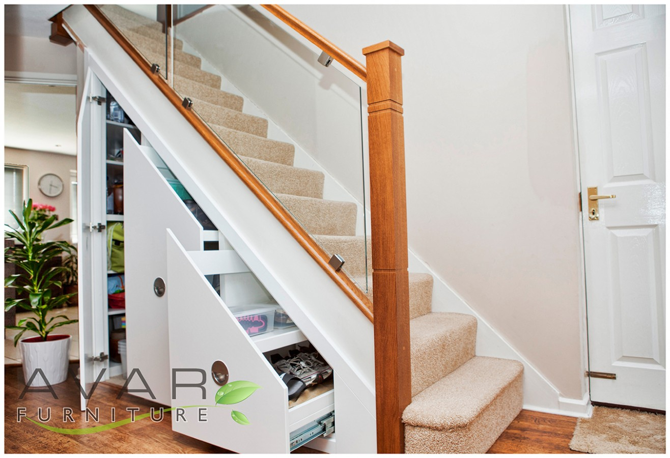 Under stairs storage ideas gallery 2 north london for Understairs storage
