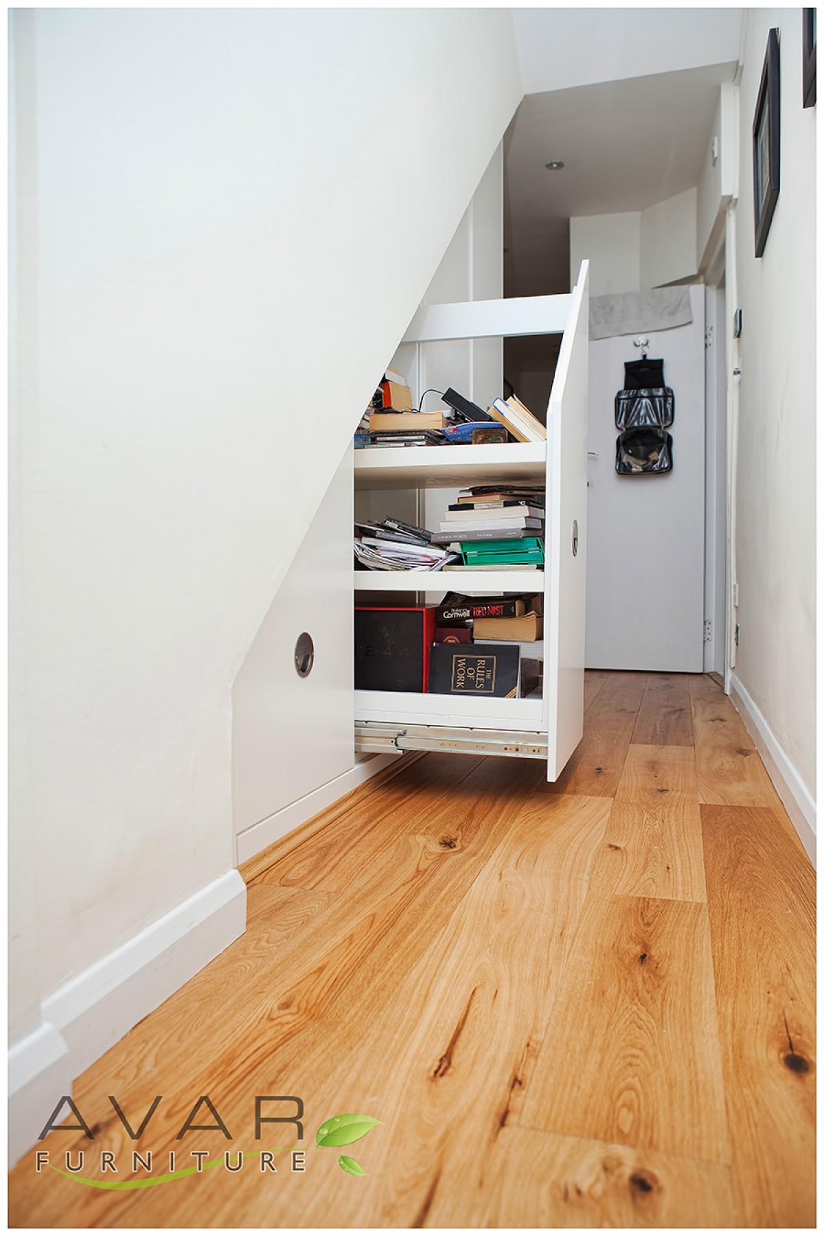 Under Stairs Storage Ideas Gallery 11 North London Uk Avar Furniture