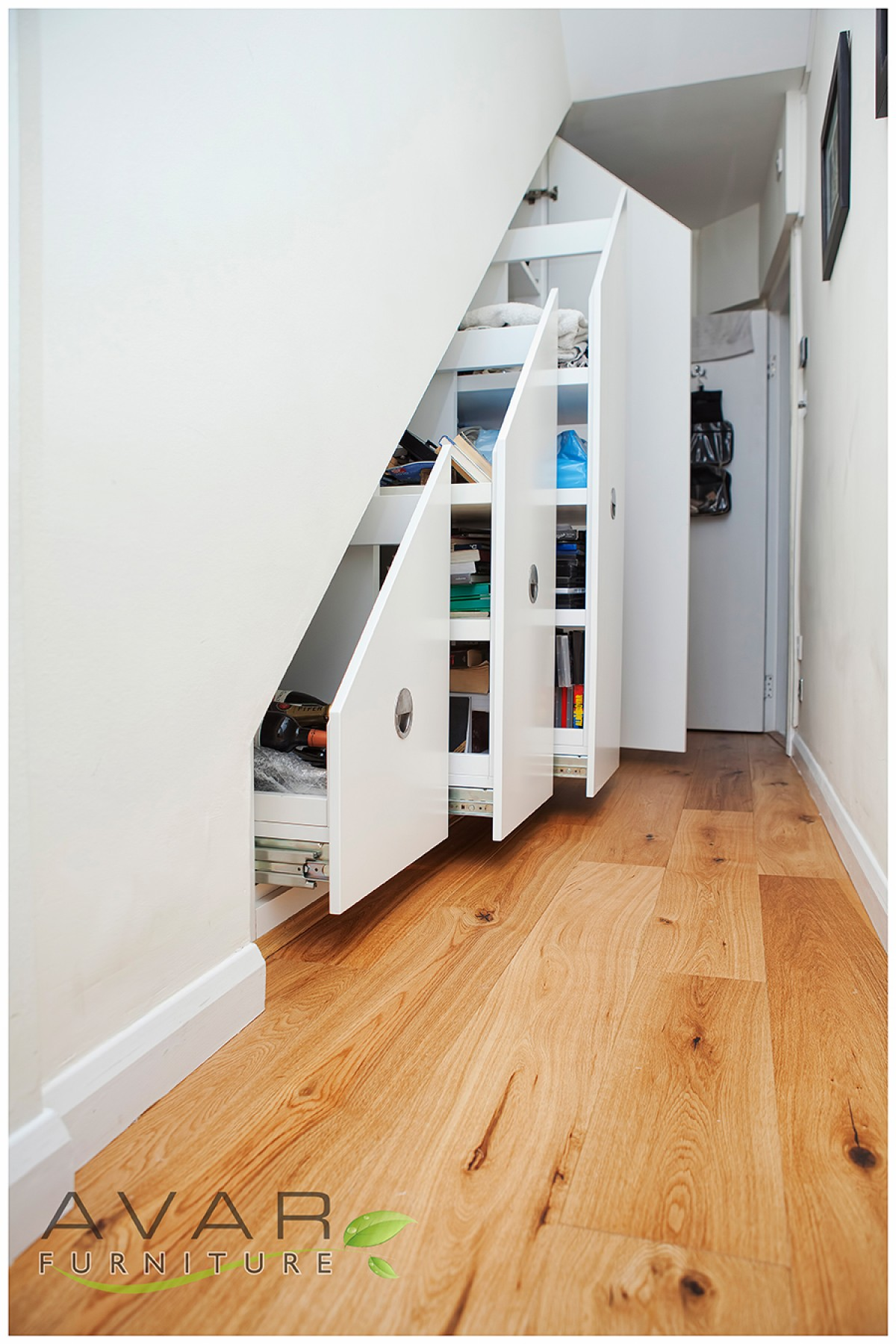 Under stairs storage ideas gallery 11 north london for Understairs storage