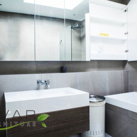 Modern look bathroom furniture