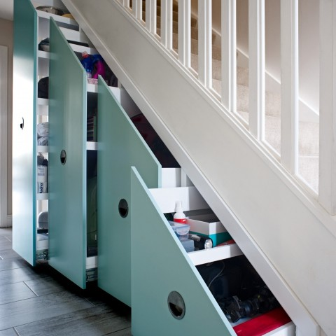 Contemporary design understairs units