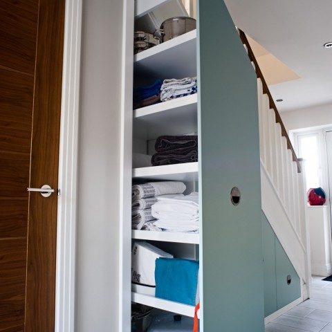 Under Stairs Shelving solutions