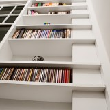 Random design shelves