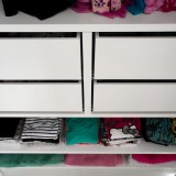 Push open drawers