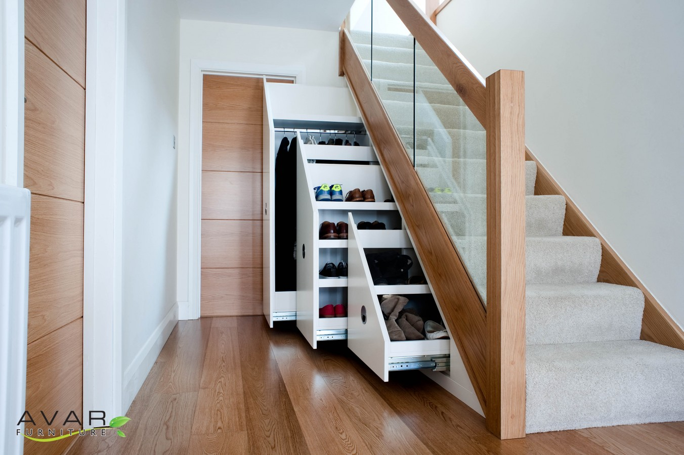 Under stairs storage ideas gallery 24 north london for Under stairs drawers plans