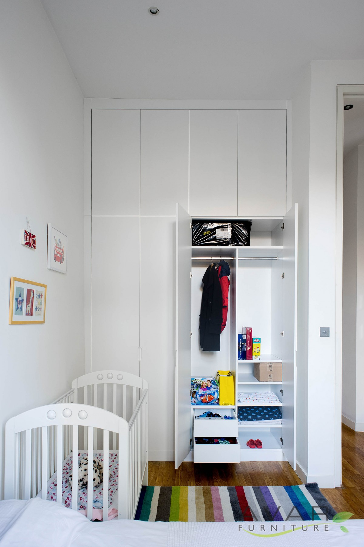 Fitted Bedroom Furniture Storage Solutions