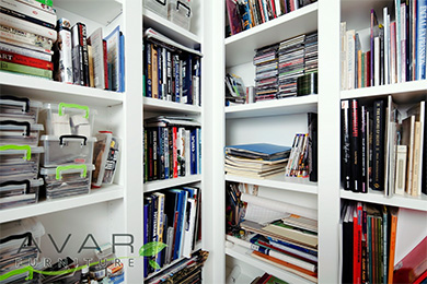 bespoke bookshelving fitted bookcases design